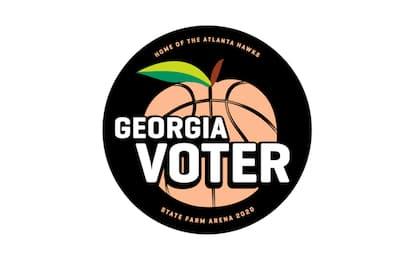 Atlanta trasforma l'arena in un seggio elettorale