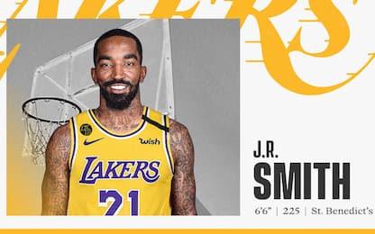 JR Smith ha firmato con i Los Angeles Lakers