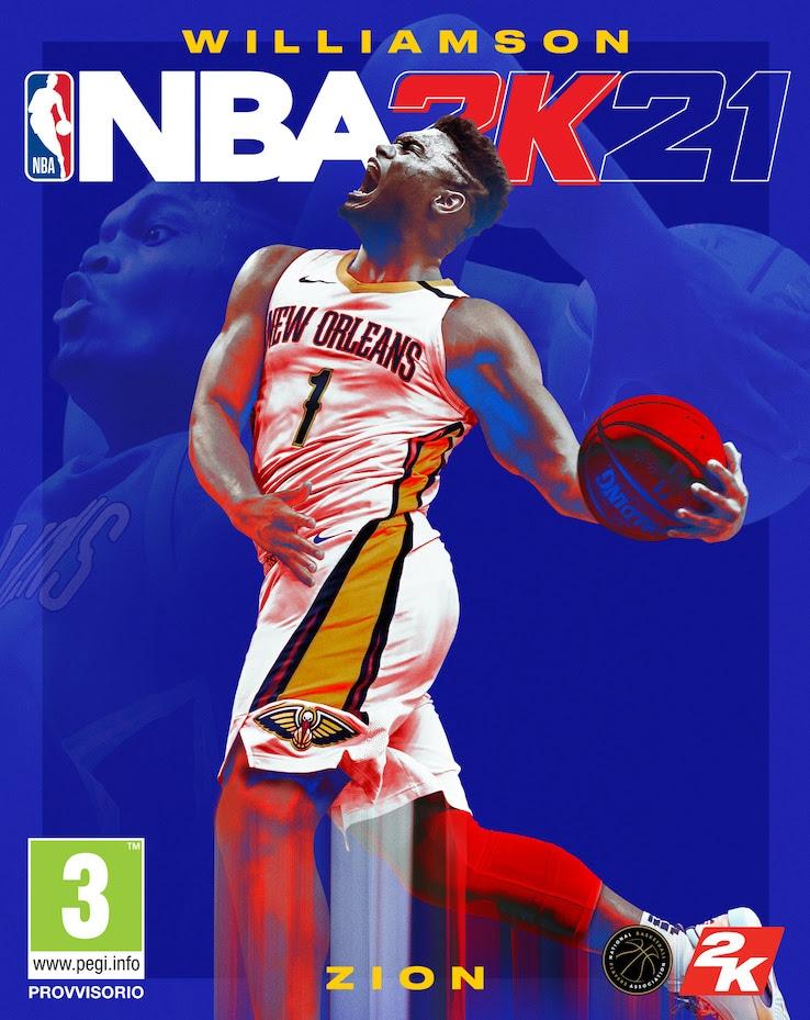 NBA 2K21 con Zion Williamson