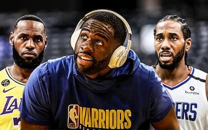 """Green: """"I Lakers hanno un vantaggio sui Clippers"""""""
