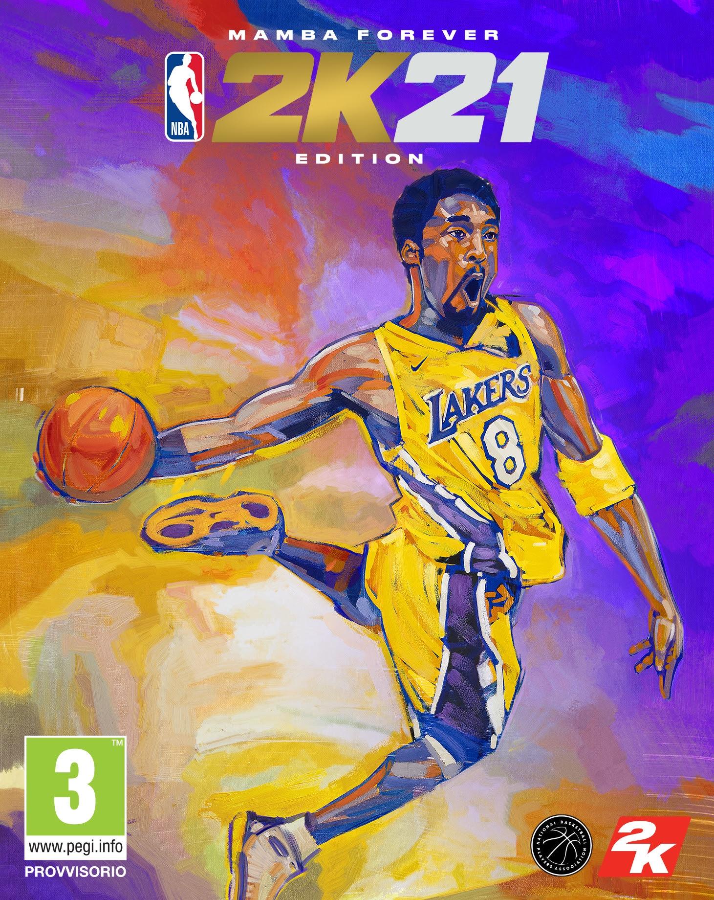 La cover della Mamba Forever Edition per PS4 e Xbox One