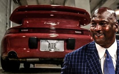 L'incredibile collezione di auto di Jordan. FOTO