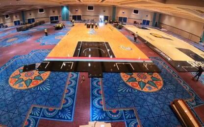 Come Disney World si è trasformata nella casa NBA
