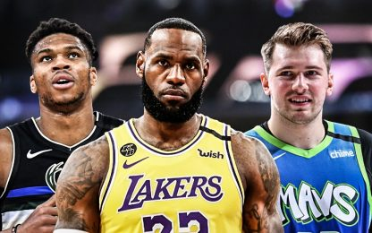 La top-100 giocatori NBA del 2019-20. CLASSIFICA