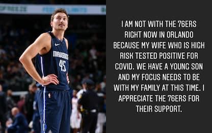 """Broekhoff non va a Orlando: """"Mia moglie è malata"""""""