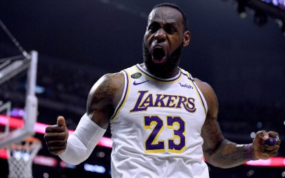 NBA al via: i Lakers ripartono... da LeBron James