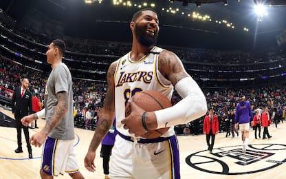 Lakers, Markieff Morris non è a Orlando in gruppo