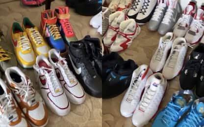PJ Tucker a Orlando ha portato 91 paia di scarpe