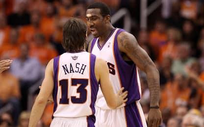Che coppia: Stoudemire nello staff di Nash ai Nets