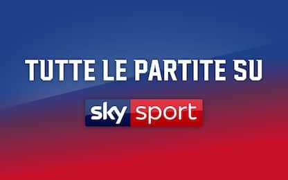 Si riparte: tutta la programmazione di Sky Sport