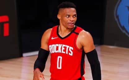 Infortunio Westbrook, salterà l'inizio dei playoff