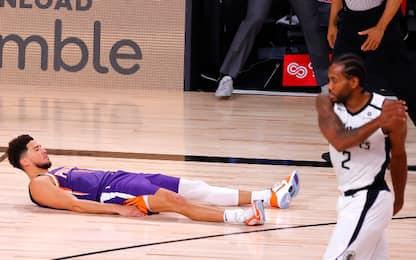 Booker segna sulla sirena: reazioni NBA sui social