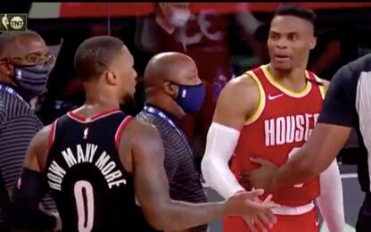 Westbrook contro Lillard, ma la colpa è di Nurkic