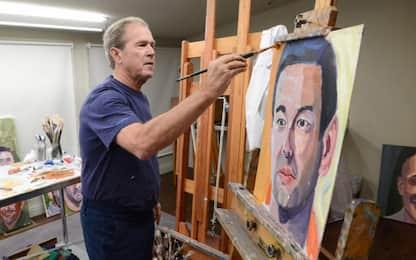 George W. Bush, tra i suoi ritratti c'è anche Dirk