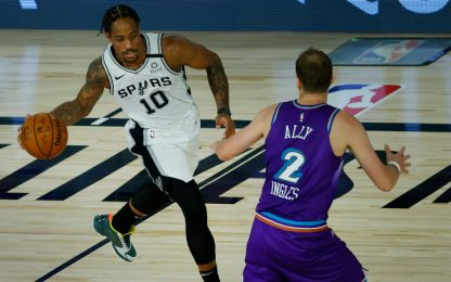 San Antonio batte Utah e insegue un posto playoff