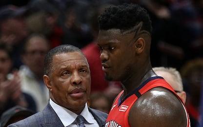 I Pelicans pensano a un nuovo allenatore per Zion?