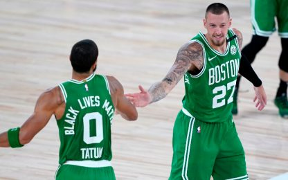 Boston travolge Toronto, Magic e Nets ai playoff