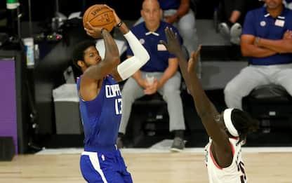 Clippers ok anche senza Leonard, Blazers battuti