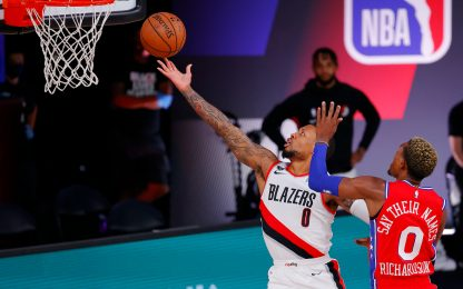 Lillard ne mette 51, Pelicans e Kings eliminati
