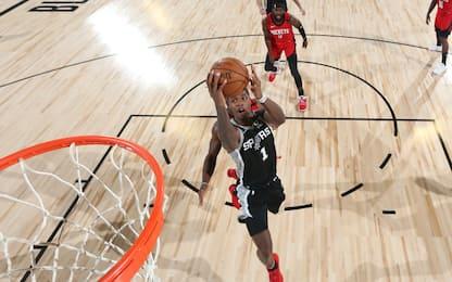 Tutto facile per gli Spurs, Rockets travolti