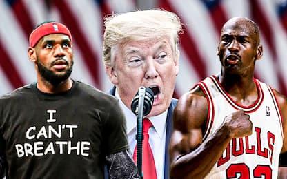 Jordan o LeBron? Anche Trump ha il suo preferito