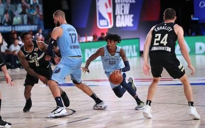 Memphis vince e farà il play-in, successo dei Suns