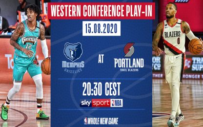 Portland vs. Memphis: tutto sul play-in a Ovest