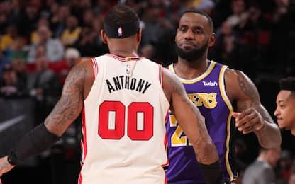 Melo verso i Lakers: tutte le notizie LIVE