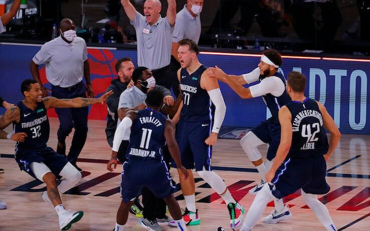 NBA, LA Clippers-Dallas Mavericks 133-135 OT: Doncic leggendario vince  sulla sirena | Sky Sport