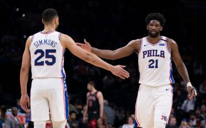 Embiid e Simmons restano, in partenza Horford?