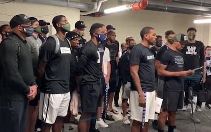 Caso Blake, i Bucks boicottano gara-5 per protesta