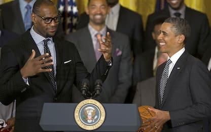 LeBron chiama Obama: i retroscena della telefonata