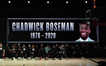 La morte di Boseman e la NBA di Black Lives Matter