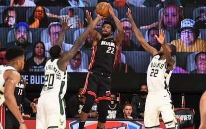 Butler leader di Miami, con l'aiuto di D-Wade
