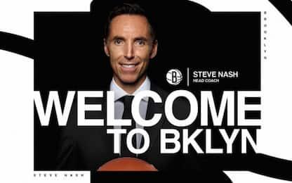 Steve Nash è il nuovo allenatore dei Brooklyn Nets