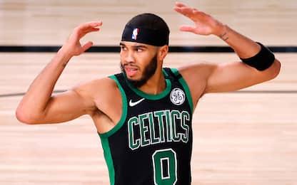 """Boston si aggrappa a Tatum: """"Devo giocare meglio"""""""