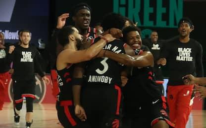 Toronto si salva sulla sirena, Clippers a valanga
