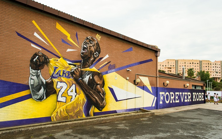 murale kobe bryant