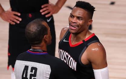 Westbrook litiga con il fratello di Rondo. VIDEO