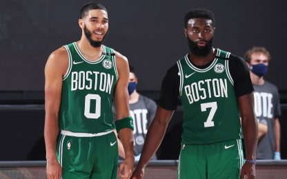 Tatum-Brown, Boston risorge: serie riaperta, 2-1