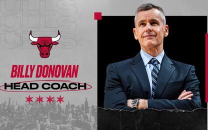 Billy Donovan è il nuovo allenatore dei Bulls