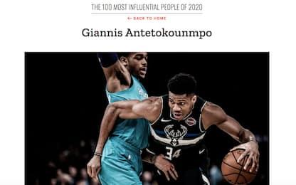 TIME 100, le persone più influenti: Antetokounmpo