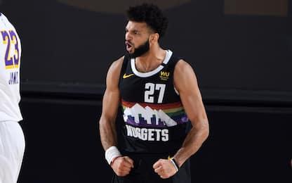 Denver resiste alla rimonta Lakers: serie sul 2-1