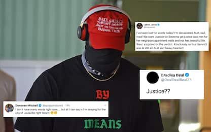 Le reazioni dei giocatori al caso Breonna Taylor