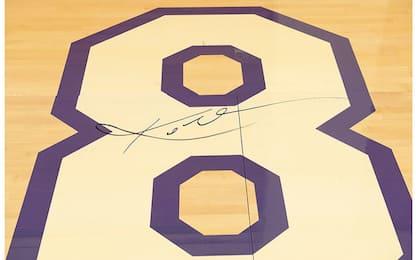 Kobe, all'asta il parquet firmato dell'ultima gara