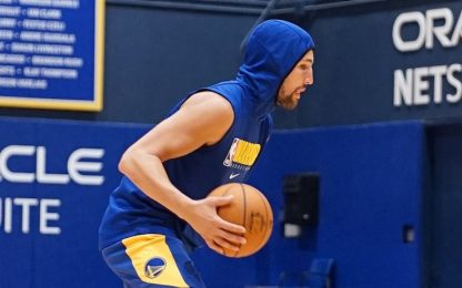 Klay Thompson torna ad allenarsi con gli Warriors