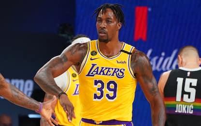 """Lakers sul 3-1, Howard: """"Il lavoro non è finito"""""""
