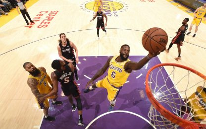 No playoff, poi in finale: in 4 come Heat e Lakers