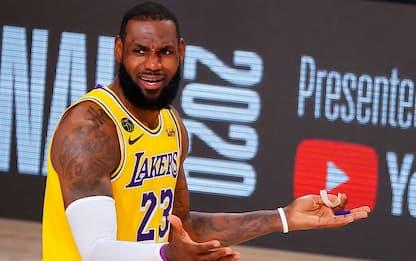 """LeBron: """"Non soddisfatto di come abbiamo giocato"""""""