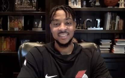 CJ McCollum su Lakers-Heat e il futuro dei Blazers